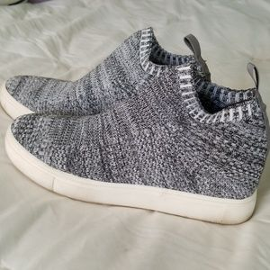 Soft Knit Wedge Shoes
